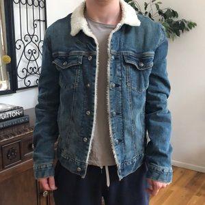 Men's SZ small Goodfellow denim jacket